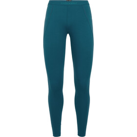Icebreaker 260 Zone Leggings Damen kingfisher-arctic teal-prism